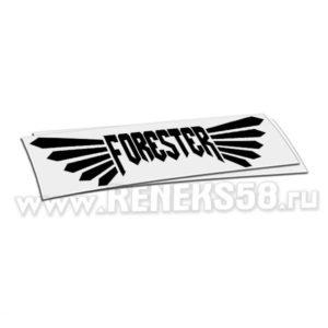 Наклейка Subaru Forester с крыльями