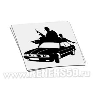 Наклейка BMW Mafia