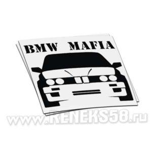 Наклейка BMW Mafia вар1