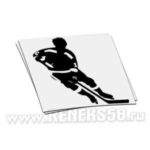Наклейка Хоккеист вар1