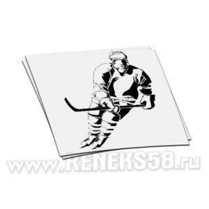 Наклейка Хоккеист вар2