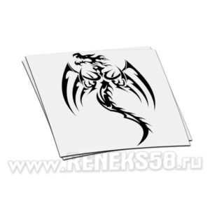 Наклейка дракон вар 2