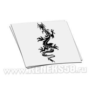 Наклейка дракон вар 3