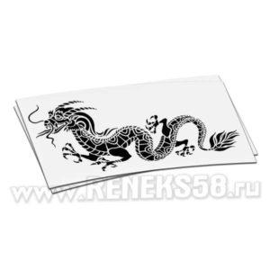 Наклейка дракон вар 4