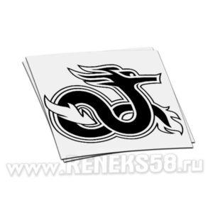 Наклейка дракон вар 6