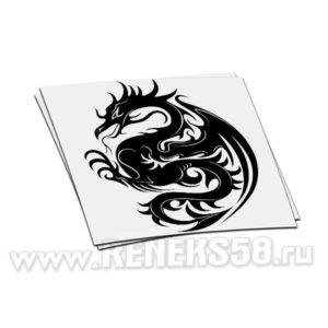 Наклейка дракон вар 7