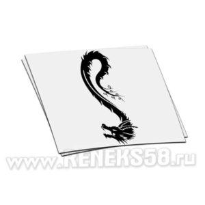 Наклейка дракон вар 8
