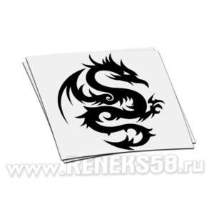 Наклейка дракон вар 9