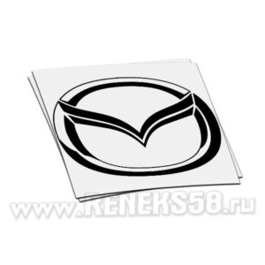 Наклейка логотип Мазда