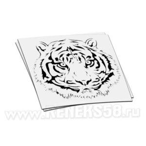 Наклейка мордочка Тигра
