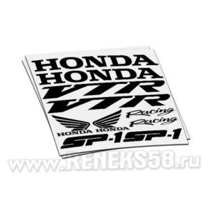 Комплект наклеек Honda vtr sp1