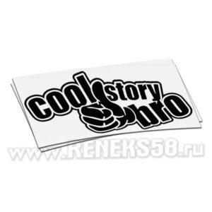 Наклейка Cool story bro вар2