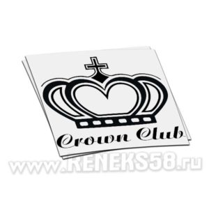 Наклейка Crown Club