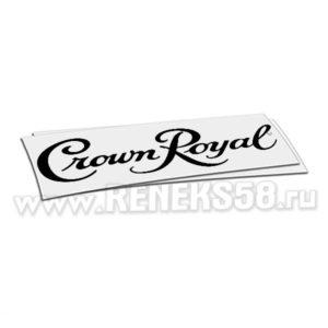 Наклейка Crown Royal