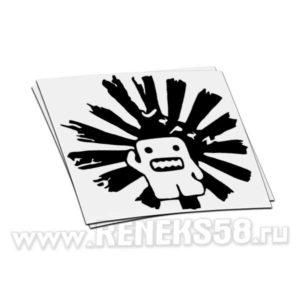Наклейка Domo Cun солнце