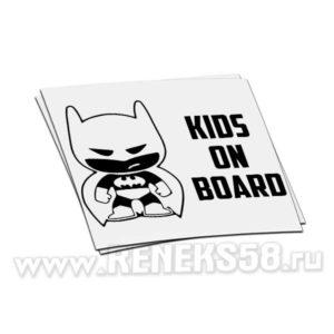Наклейка KIds on board Batman