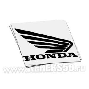 Наклейка Honda крыло