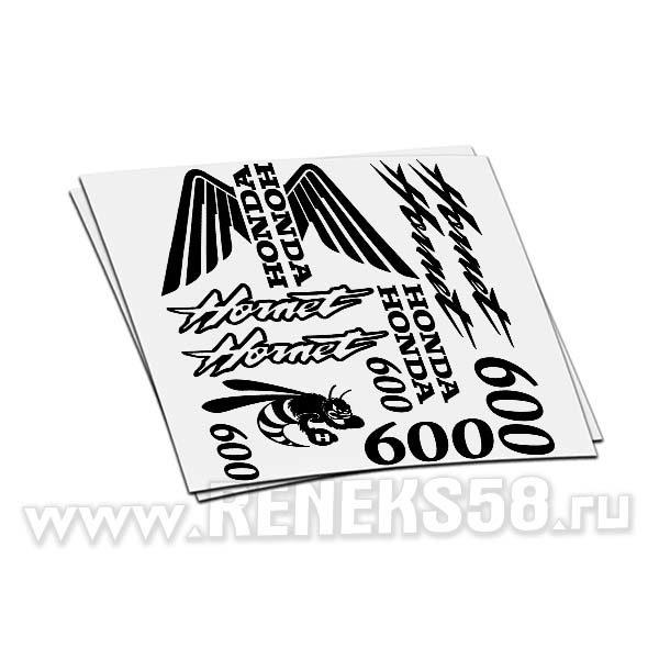 Комплект наклеек Honda Hornet 600 вар1