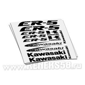 Комплект наклеек Kawasaki ER-5