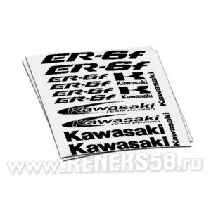 Комплект наклеек Kawasaki ER-6F
