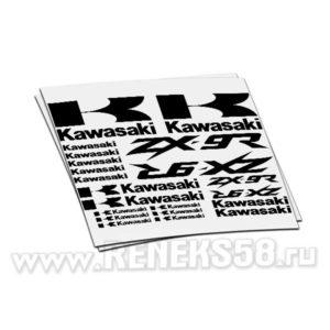 Комплект наклеек Kawasaki ZX-9r