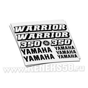 Комплект наклеек Yamaha 350 WARRIOR