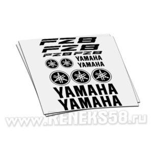 Комплект наклеек Yamaha FZ8