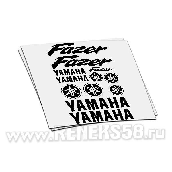Комплект наклеек Yamaha Fazer