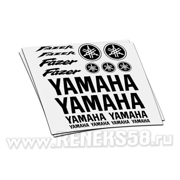 Комплект наклеек Yamaha Fazer вар2
