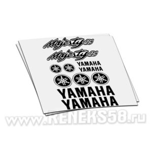 Комплект наклеек Yamaha Majesty 125