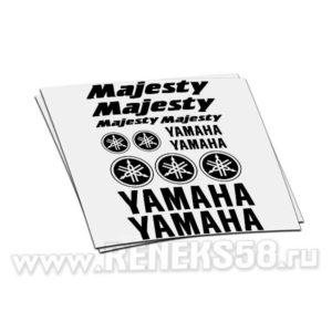 Комплект наклеек Yamaha Majesty