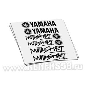 Комплект наклеек Yamaha Moto-sport