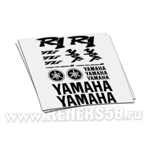 Комплект наклеек Yamaha R1 deltabox