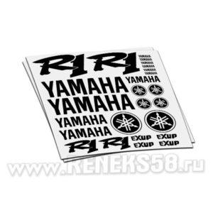 Комплект наклеек Yamaha R1 exup вар.1