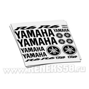 Комплект наклеек Yamaha R6 exup