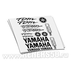 Комплект наклеек Yamaha TDM Twin 850