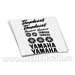 Комплект наклеек Yamaha Thundercat