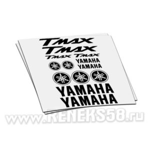 Комплект наклеек Yamaha Tmax