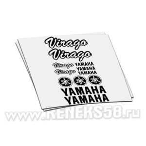 Комплект наклеек Yamaha Virago