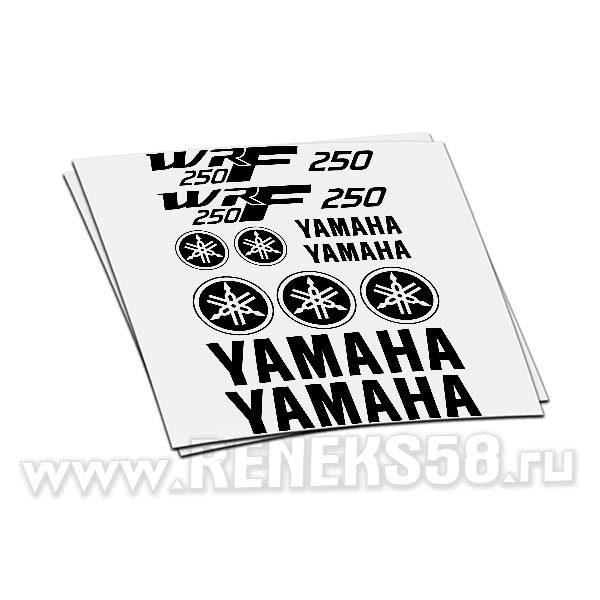 Комплект наклеек Yamaha Wrf 250