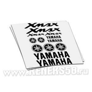 Комплект наклеек Yamaha Xmax