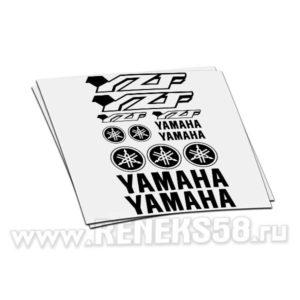 Комплект наклеек Yamaha YZF