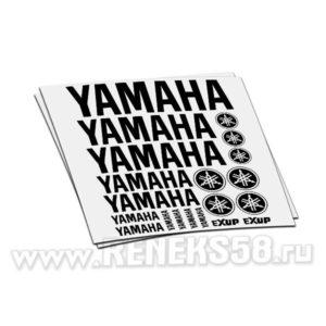 Комплект наклеек Yamaha exup