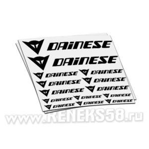Комплект наклеек dainese