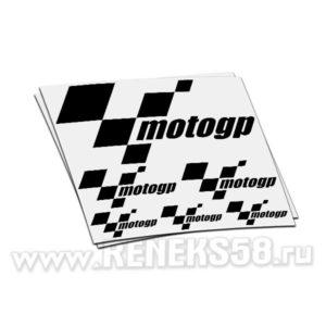 Комплект наклеек motogp